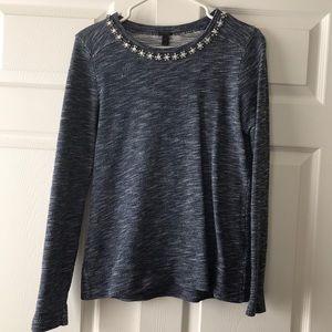 J.Crew jeweled sweater